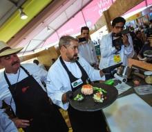 Una ensalada de legumbres andina y un humus de tarwi