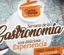 Gastronomía y Cultura en la III edición de Cocina al Parque