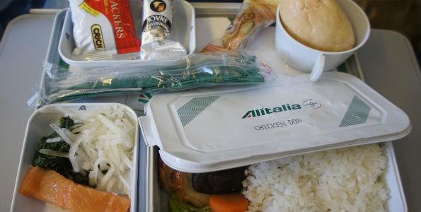 Menús celíacos en aerolíneas