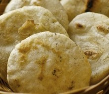 Arepa: plato tradicional de Colombia