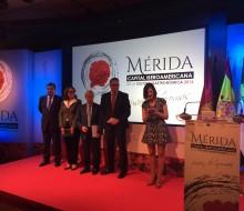 Presentación de Mérida como Capital Iberoamericana de la Gastronomía